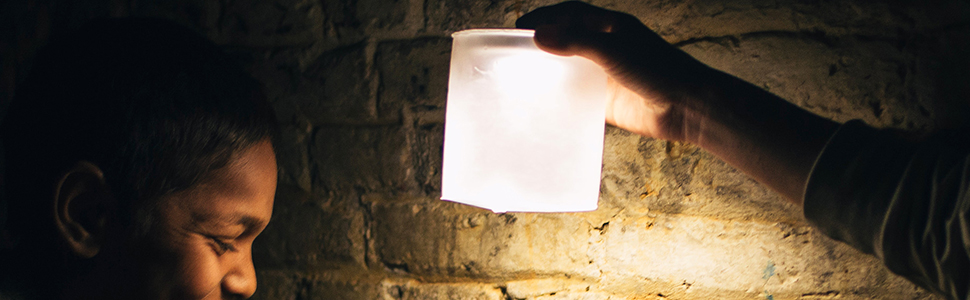MPOWERD's Luci EMRG Solar Inflatable Light + SteriPEN's Aqua UV Water Purifier