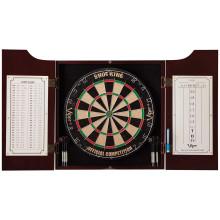 standard set image shows open dart cabinet with scoreboard