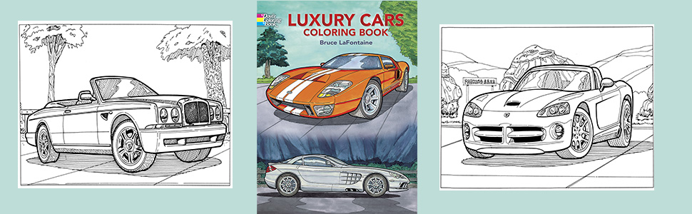 7600 Coloring Book Car Picture HD