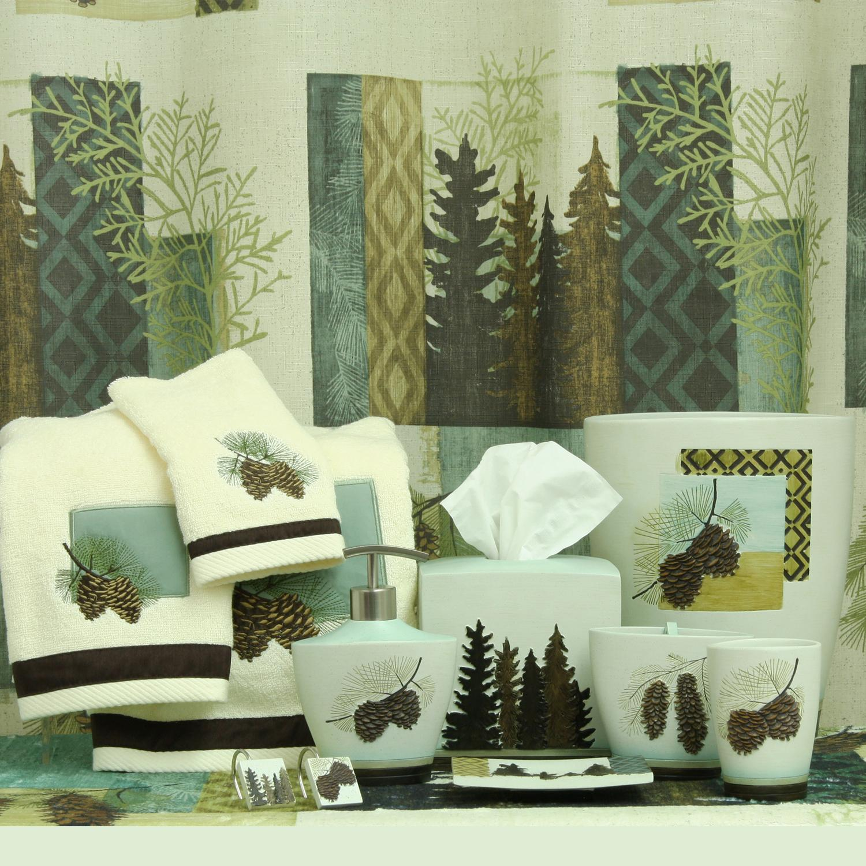Amazon Com Bacova Guild Westlake Fabric Shower Curtain