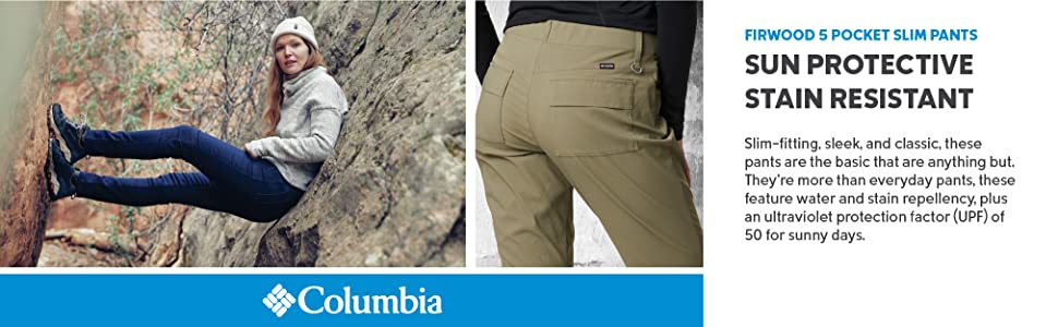 Columbia Women's Firwood 5 Pocket Slim Pants