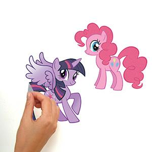 Peel And Stick Decals Are Fast And Fun. Quick And Easy To Apply, RoomMates My  Little Pony Wall ... Part 66
