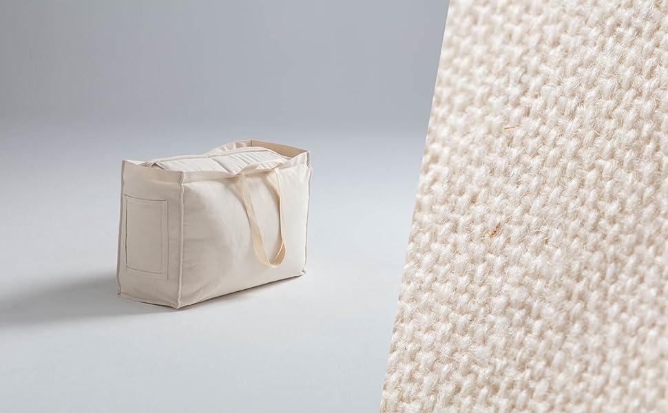 Tragetasche - 100% Baumwolle Natur