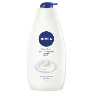 nivea; shower; shower gel; bath; skincare; moisturiser; shower gel; body wash; soap; cleansing;