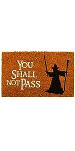 You shall not pass Fußmatte