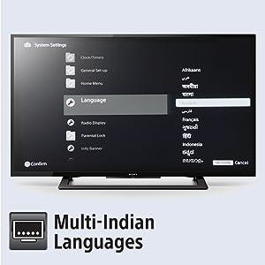 Multi Indian regional languages