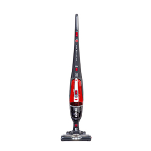 Hoover Freejet Evo 18v 2in1 Cordless Vacuum Cleaner, FE18AG, Removable Handheld, Lightweight, Car, Kitchen, Stairs RedGrey