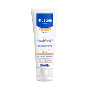 Mustela face cream with cold cream