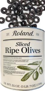 ripe olives canned;sliced olives canned;sliced black olives;black olives sliced;black olives pizza