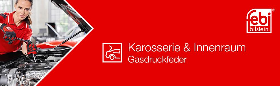 Febi Bilstein 38236 Gasdruckfeder Für Heckklappe 1 Stück Auto
