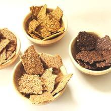Foods Alive Organic Gluten Free Flax & Power Crackers - Raw, Vegan, Kosher, Non-GMO