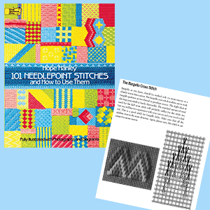 101 Needlepoint Stitches And How To Use Them Fully Illustrated With Photographs And Diagrams Dover Embroidery Needlepoint Hanley Hope 0800759250318 Amazon Com Books