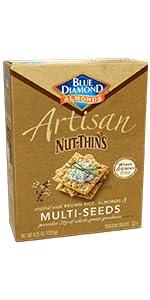 Artisan Nut-Thins Cracker Crisps, Multi-Seeds