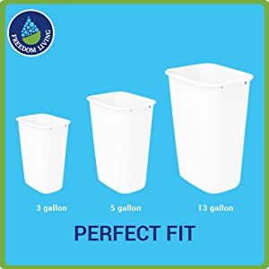 3 5 13 gallon small tall kitchen trash bags biodegradable compsotable bin liners can large small
