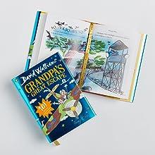 Grandpa's Great Escape, David Walliams, Christmas, Gifts, Celebration, Anniversary