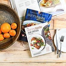 air fryer;air fryer cookbooks;keto;skinnytaste cookbook;mother's day;gluten free cookbook;health