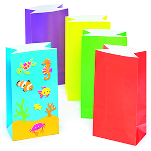 Colored Party Bags