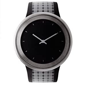 Reloj de diseño con papel electrónico con matriz activa en la esfera y la pulsera