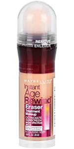 instant age rewind eraser face treatment makeup