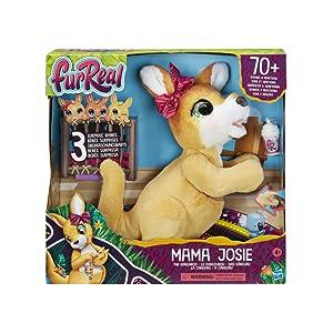 Furreal Friends- Peluche electrónico Mama Josie Y Sus Canguritos, Hasbro E67245L0