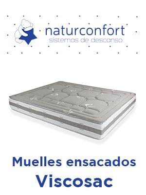 Colchón Muelles ensacados Viscosac
