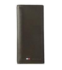 tommy hilfiger mens leather wallet front pocket magnetic clip