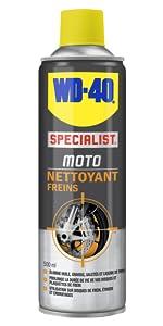 dégraissant moto, dégraissant freins, nettoyant freins moto, WD-40 Specialist moto