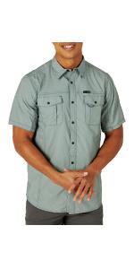 ATG x Wrangler Flap Pocket Hike Short Sleeve Shirt
