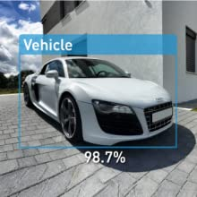 amaryllo auto tracking security camera car vehicle detection driveway home property alert