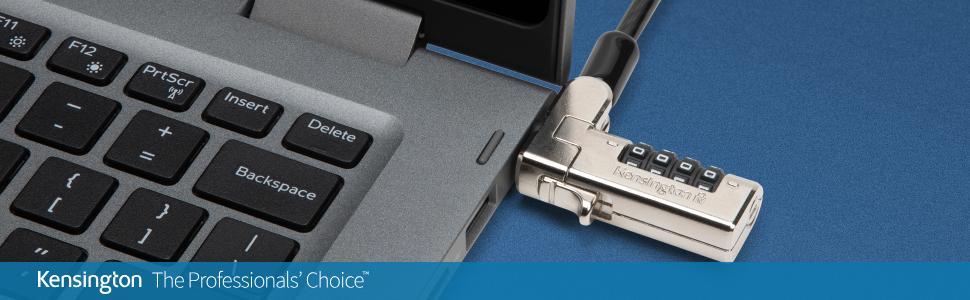 N17 Combination Laptop Lock 2.0 Serialized for Dell (K68009WW)