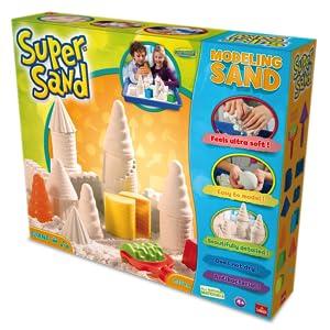 Esta arena cinética es perfecta para que los niños jueguen en casa como si fuera arena de playa