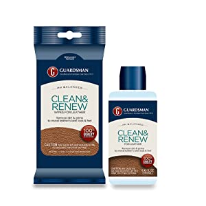 clean and renew fabric protection leather cleaner