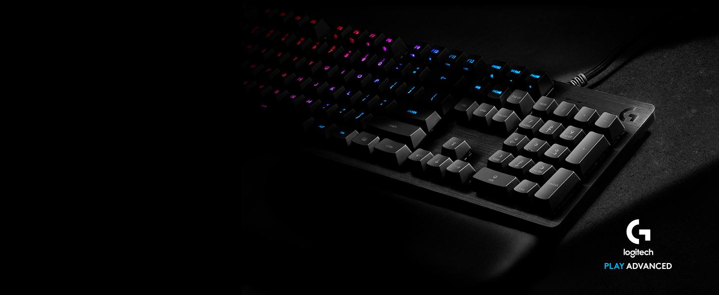 Teclado mecánico RGB G513 para gaming