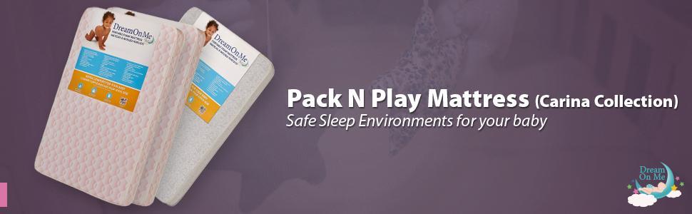 Amazon Com Dream On Me Foam Pack And Play Mattress Crib