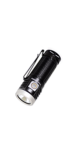1500 lumen magnetic tail cap flashlight