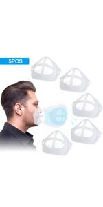 mask brackets for breathing