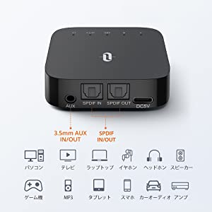 Bluetooth トランスミッター