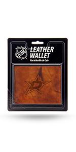 wallet,mens wallet,wallet for women,wallet for men,leather wallet,NHL Dallas Stars