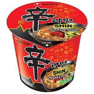 Shin Noodle Soup Cup