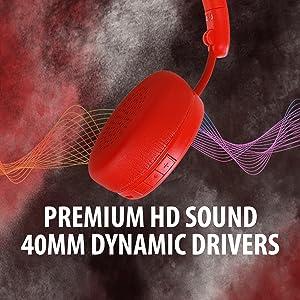 40mm dynamic drivers
