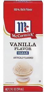 Vanilla Flavor Clear