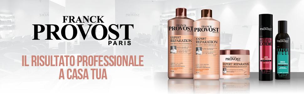franck provost, cura dei capelli, provost, shampoo, balsamo, maschera, capelli lisci