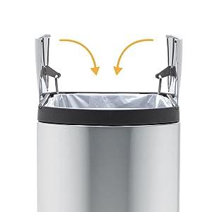 Amazon Com Simplehuman 10 Liter 2 6 Gallon Butterfly Lid