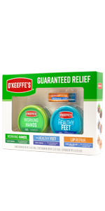 O'Keeffe's Night Treatment Combo Pack