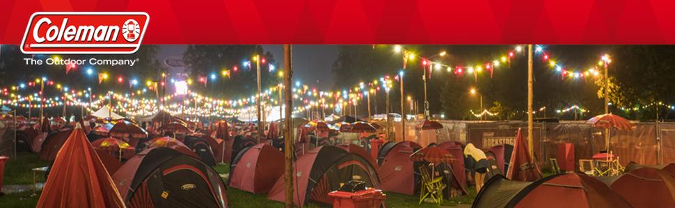 tent;coleman tent;blackout tent;4 berth tent;3 person tent;dome tent;festival tent;