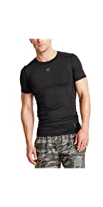 Mission Men's Voltage Compression Athletic Shirt,Athletic Shirt,athletic shirt,compression