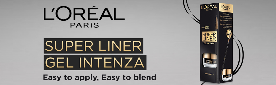 L'Oreal Paris Super Liner Gel Intenza Eyeliner, Profound Black