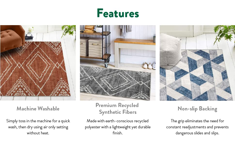 Realife Washable Rugs