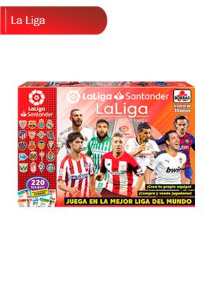 Educa Borrás - La Liga Juego de Mesa de Fútbol (18350): Amazon.es ...