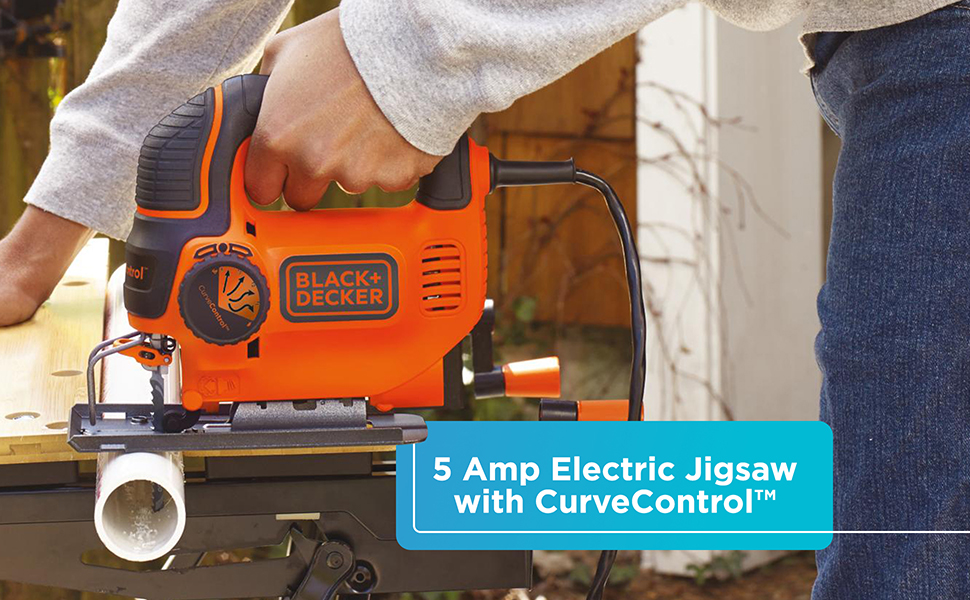 BLACK+DECKER 5.0-Amp Electric Smart Select Jig Saw